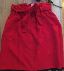 NOVA crvena suknjica