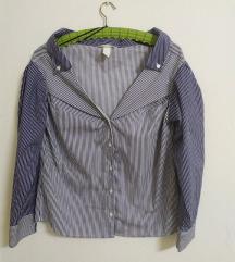 Off shoulder košulja H&M