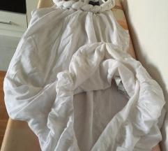 Prelepa ZARA haljina sa PLETENICOM, XL