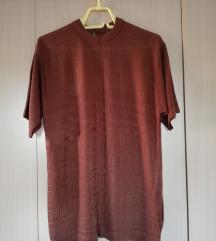 Braon končana bluza YSL