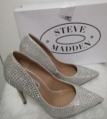 Steve Madden srebrne štikle - novo,original