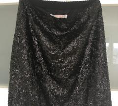 C&A suknja šljokice