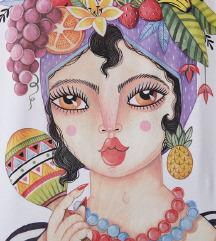 Zara majica Women in art collection✔️NOVO