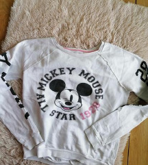 H&M Mickey Mouse beli duks S