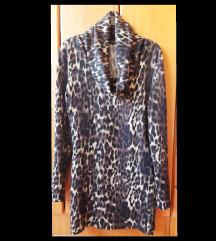 Haljina leopard braon-bez