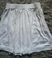 DANAS 450✿ Bela letnja suknja, vel. S/M