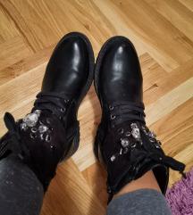 Crne bajkerke/cizme