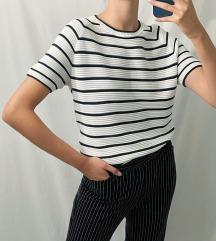 Marie Lund retro majica na pruge