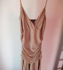 Prelepa krem haljina