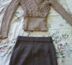 Komplet - suknja + džemper