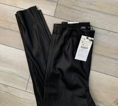 Zara Helanke Pantalone Crne