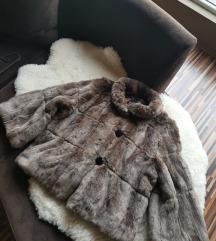 Braon bunda od veštačkog krzna - SNIŽENJE