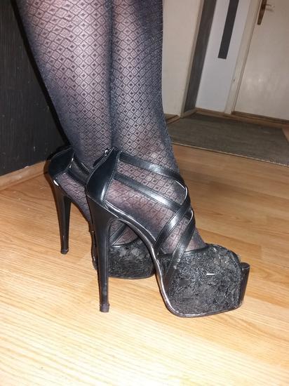 Visoke stikle, sandale NOVO!