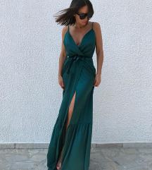 Blondy zelena haljina