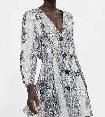 Zara snakeskin haljina