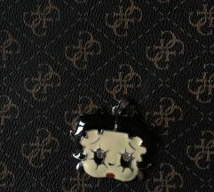 Betty boop privezak za ogrlicu