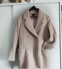 Rasprodaja! H&M oversized bebi rozi kaput