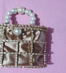 Rosantica holli embellished top handle tasna 80