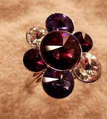 Swarovski prsten