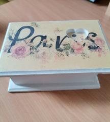 Paris kutija za nakit NOVO