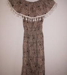 Braon haljina 𝗭𝗔𝗗𝗡𝗝𝗔 𝗖𝗘𝗡𝗔