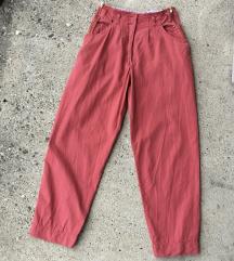 Duboke vintage pantalone (visina struka 33cm)
