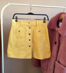 Versace? Žuta suknjica (popust!)