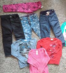 Paket moderne dečije garderobe 5-7