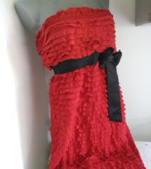 Tally Weijl crveni karnerici crna masna L
