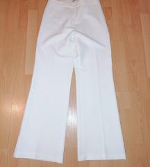 Bele široke pantalone svečane nove
