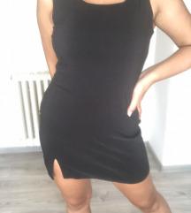 Crna retro mini haljina