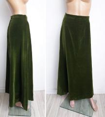 Vintage plisana maxi suknja XS/S