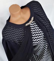 FUNDA ★ atraktivna haljina sa duplim efektom