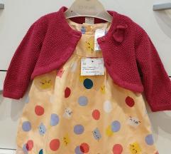 Prelepe stvari za bebu devojčicu, nove, vel 68-74