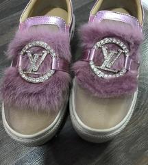 LV espadrile sa krznom-Louis Vuitton