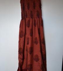 Svilena orijentalna haljina
