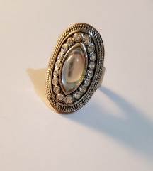 Vintage svečni prsten