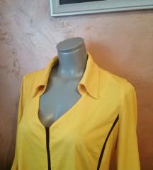 Žuta baggy bluza