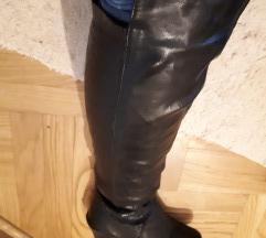 POKLANJAM! Crne čizme kožne