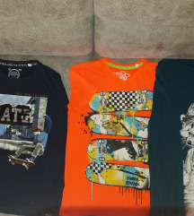 Tri dečije muške majice po ceni jedne, kao nove