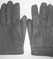 Nove kvalitetne muške kožne rukavice 9 vel.