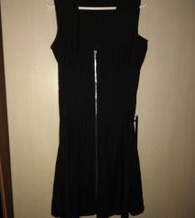 H&m crna haljinica sa cibzarom