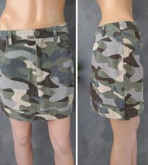 NAKD maskirna mini suknja