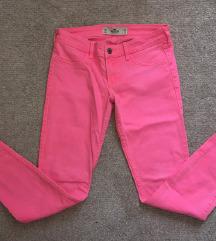 Neon Pink original Hollister skinny farmerke