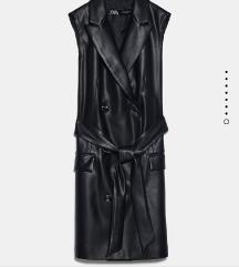 Zara kozni prsluk haljina sako varijanta
