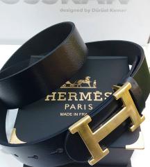 HERMES 100% kožni kaiš