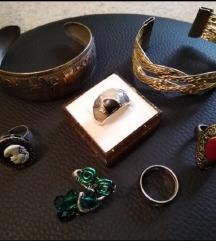 Prstenje i narukvice(sve u kompletu)