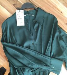 Zara novo, haljina zelena vel.S ‼️4.000