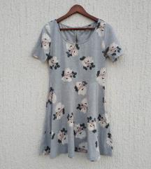 Cvetna haljina A-kroj