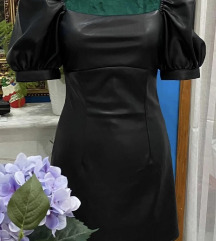 H&M kozna haljina